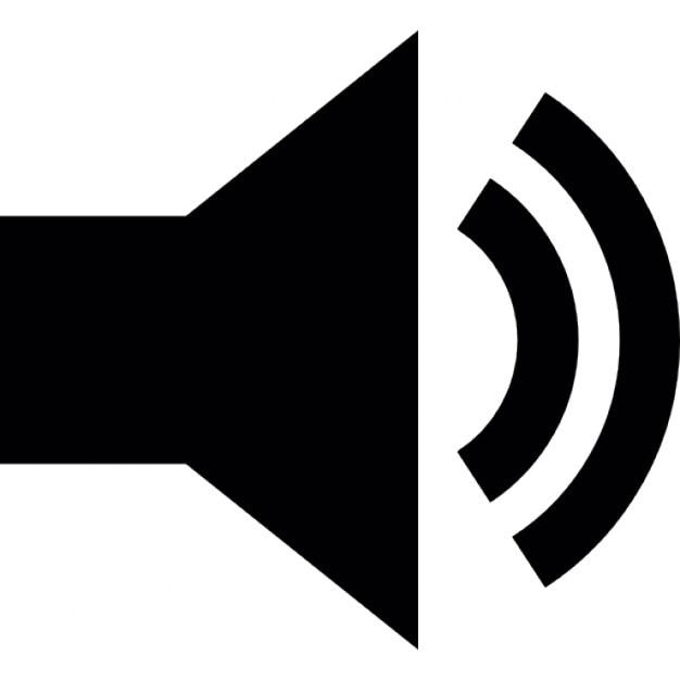 Lautsprecher-Sound hören | Download der kostenlosen Icons