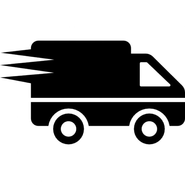 logistik lieferung lkw in bewegung download der kostenlosen icons. Black Bedroom Furniture Sets. Home Design Ideas