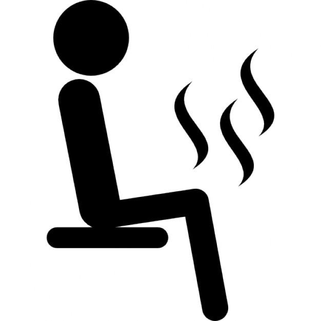 mann sitzt in der sauna download der kostenlosen icons. Black Bedroom Furniture Sets. Home Design Ideas