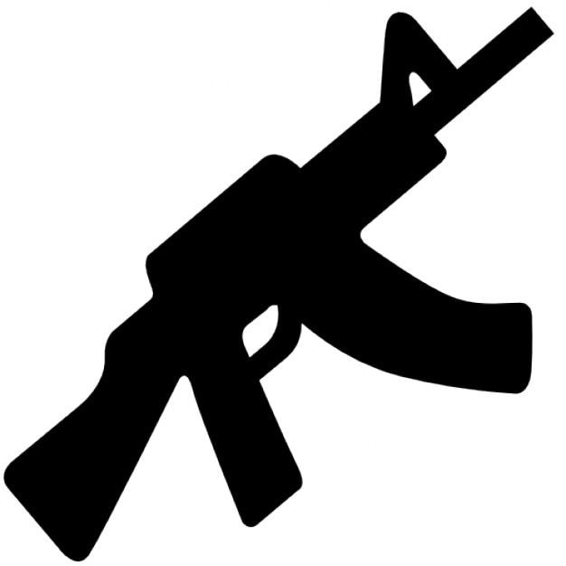 Maschinenpistole Kostenlose Icons
