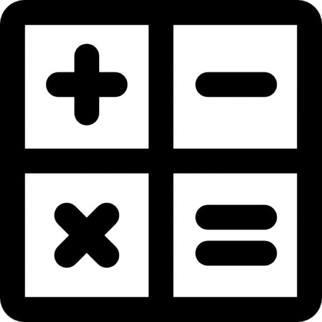 Mathematischen Operationszeichen innerhalb Quadrate | Download der ...