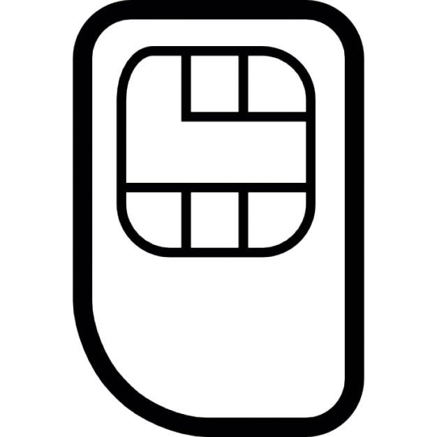 Mobilfunk Karte
