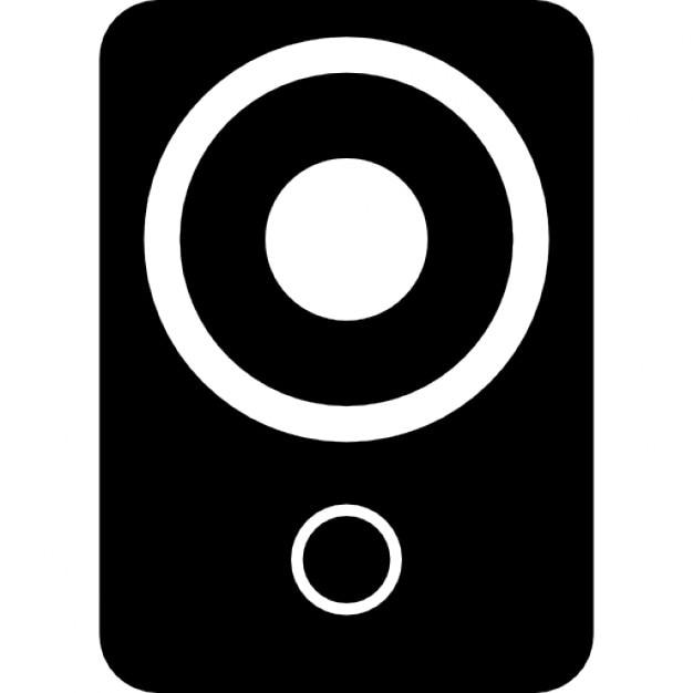 Musik-Lautsprecher-Box mit weißem Details | Download der kostenlosen ...