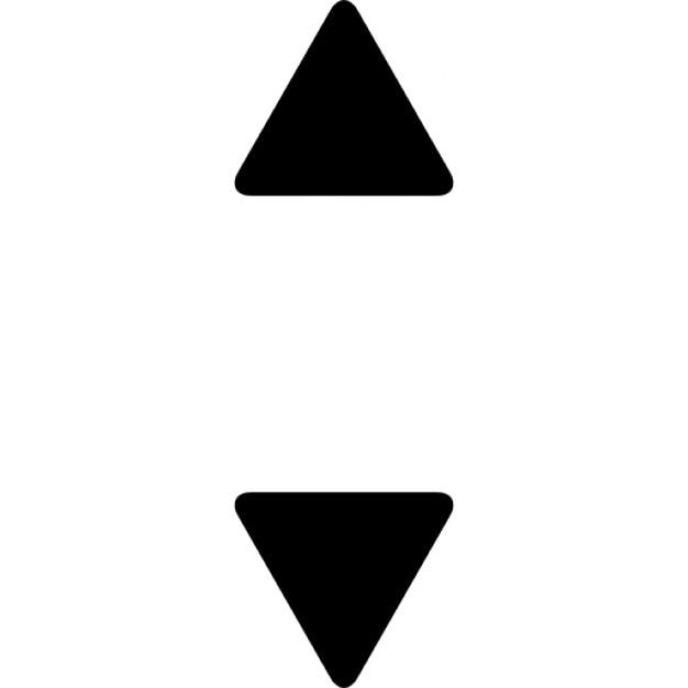 Kleine 2 Unten : nach oben und unten kleinen dreieckigen pfeile download der kostenlosen icons ~ Orissabook.com Haus und Dekorationen