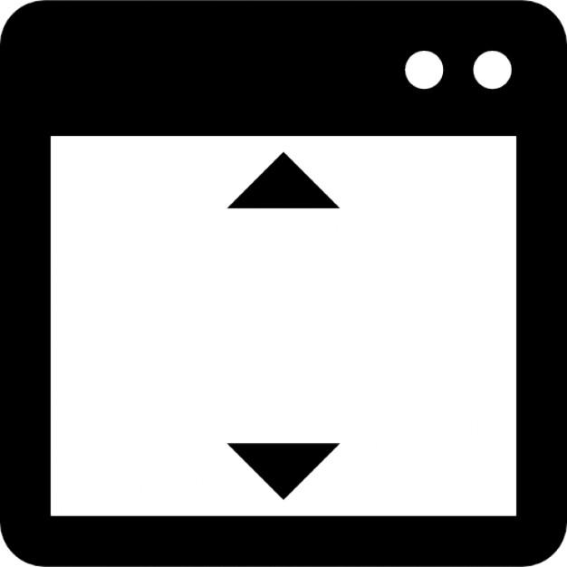 offene fenster mit h 246 henverstellung der kostenlosen icons
