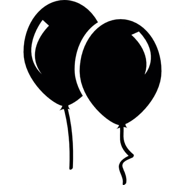 paar luftballons download der kostenlosen icons. Black Bedroom Furniture Sets. Home Design Ideas