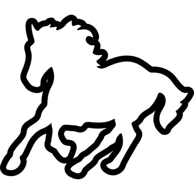 Pferd Umriss Download Der Kostenlosen Icons