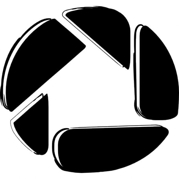 Picasa Skizziert Logo Download Der Kostenlosen Icons