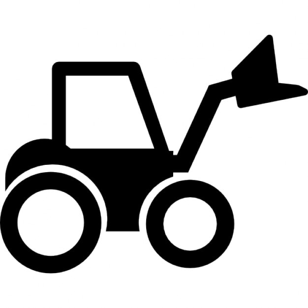 Radlader Traktor | Download der kostenlosen Icons: de.freepik.com/freie-ikonen/radlader-traktor_739863.htm