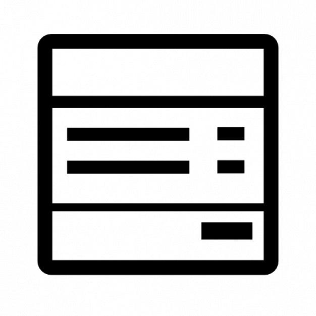 Rechnung Download Der Kostenlosen Icons