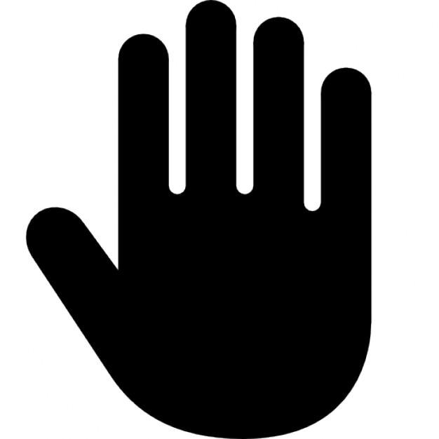 Rechte hand Kostenlose Icons