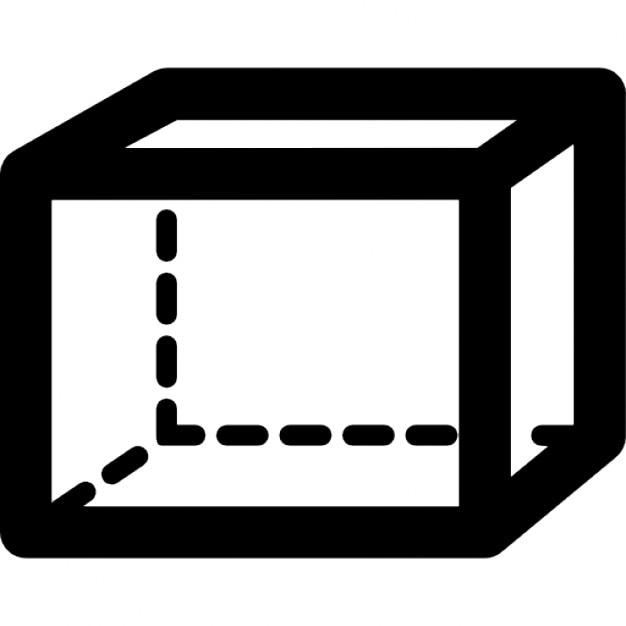 Rechteckiges Prisma Volumenform | Download der kostenlosen Icons