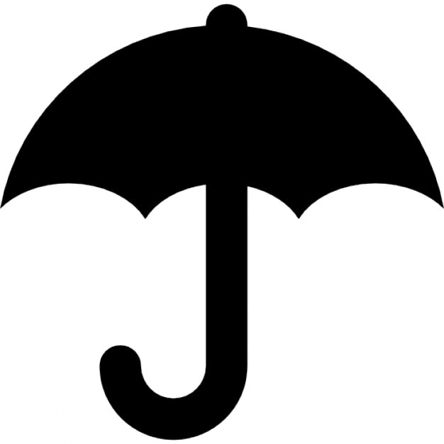 White Phone Icon Png Regenschirm schwarz sy...