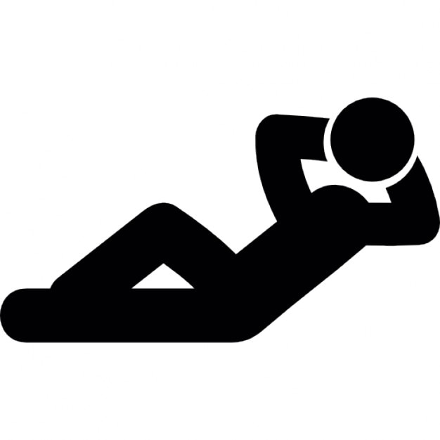 Ruhe liegend | Download der kostenlosen Icons
