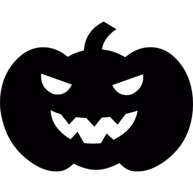 Scary Halloween Kürbis Kopf | Download der kostenlosen Icons