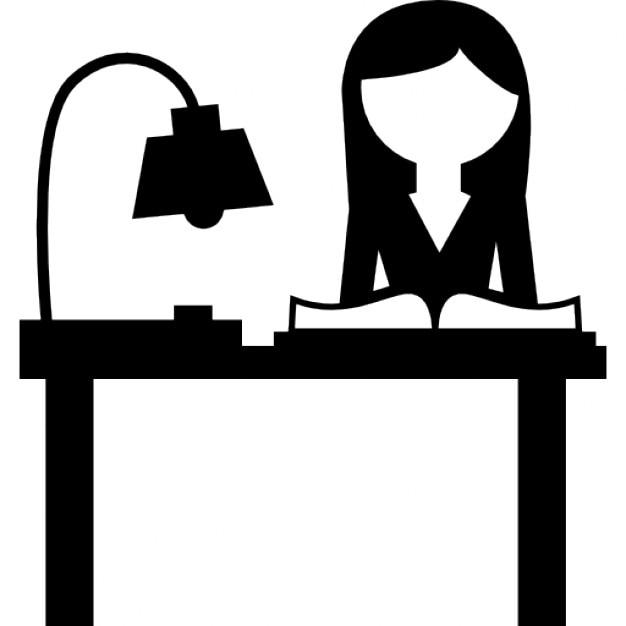 sch ler lesen auf einem schreibtisch download der. Black Bedroom Furniture Sets. Home Design Ideas