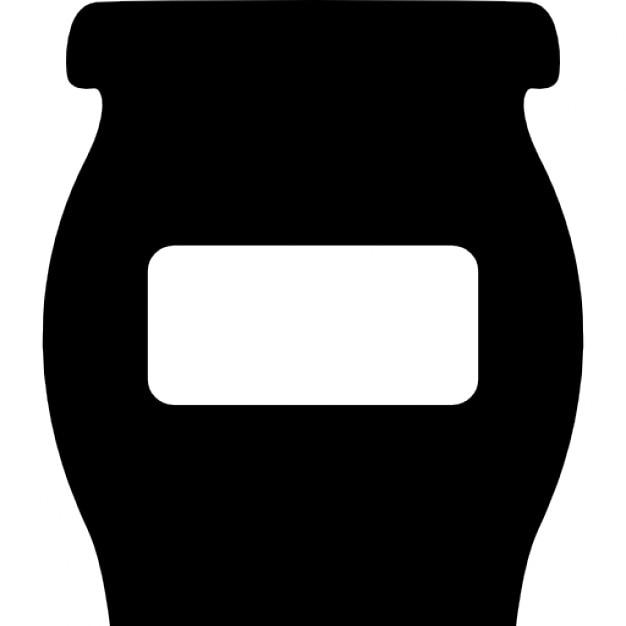 Sch ssel oder flasche mit leeren label f r k che zur for Aufbewahrung fur kuche