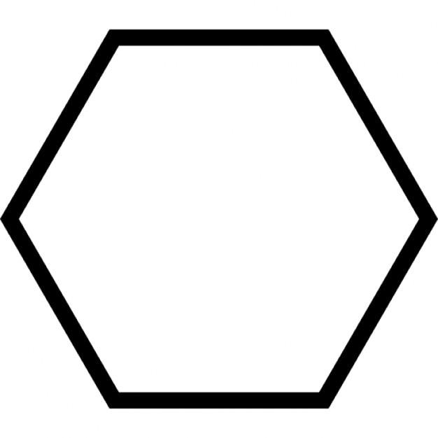 Sechs geometrische Form Umriss | Download der kostenlosen Icons