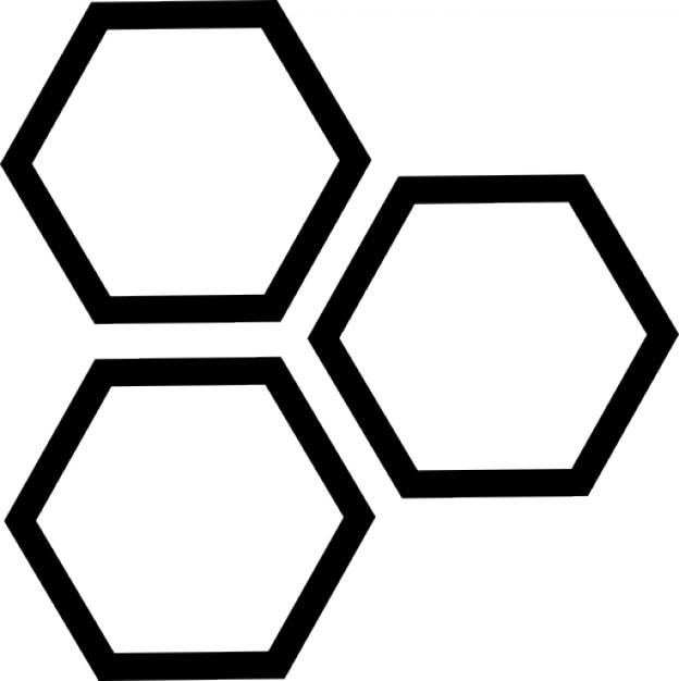 Sechsecke | Download der kostenlosen Icons