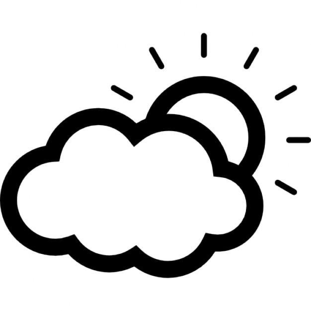 So Teilweise Von Einer Wolke Verdeckt Download Der