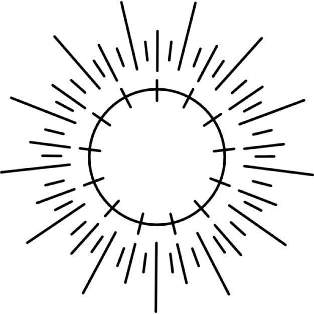Line Drawing Setting Sun : Sonnenenergie natürliche quelle download der kostenlosen