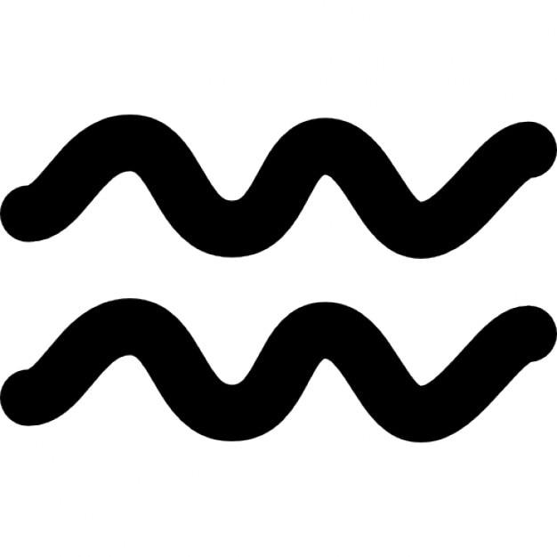 Sternzeichen Wassermann-Symbol | Download der kostenlosen