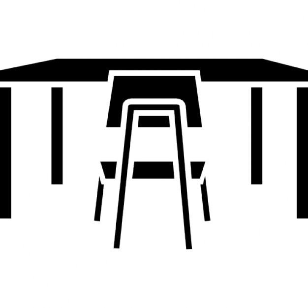 studio schreibtisch und stuhl download der kostenlosen icons. Black Bedroom Furniture Sets. Home Design Ideas