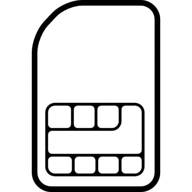 telefon sim karte chip download der kostenlosen icons. Black Bedroom Furniture Sets. Home Design Ideas