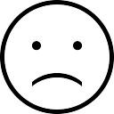Trauriges Gesicht Kontur Download Der Kostenlosen Icons