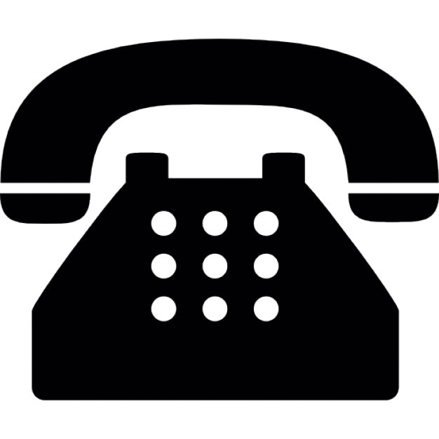 Typischen alten Telefon Kostenlose Icons