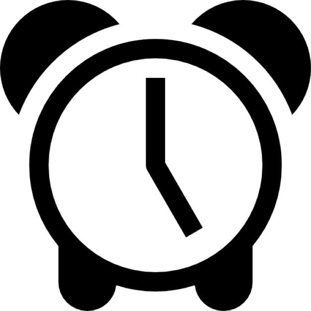 Uhr von Vintage-Design Alarmsymbol für die Schnittstelle   Download ...