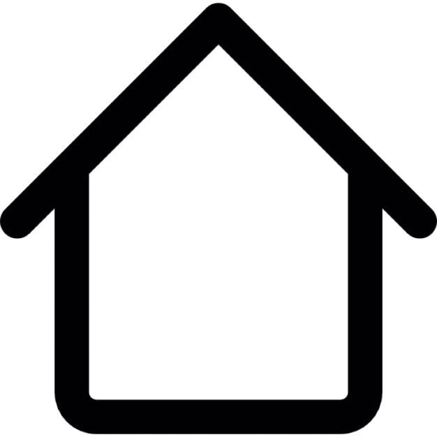 umriss eines hauses download der kostenlosen icons. Black Bedroom Furniture Sets. Home Design Ideas