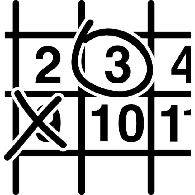 Wandkalender hautnah mit Kreuz und Kreis-Signale   Download der ...