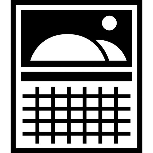 Wandkalender mit Bild Hügel   Download der kostenlosen Icons
