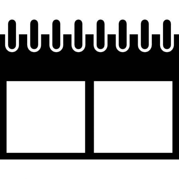 Wandkalender-Variante mit Federn   Download der kostenlosen Icons