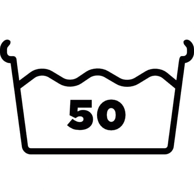 waschen mit wasser bei 50 grad download der kostenlosen icons. Black Bedroom Furniture Sets. Home Design Ideas