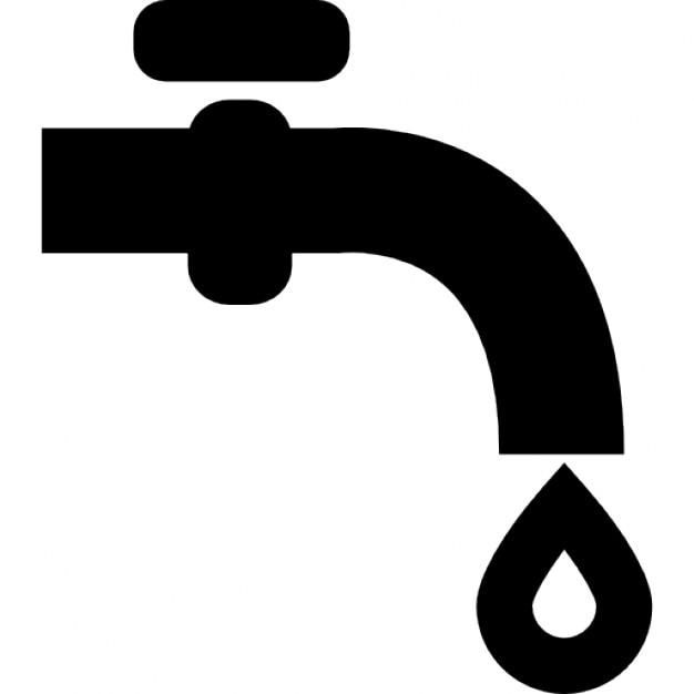 Wasserhahn ohne Wasser nur ein Tropfen fallen  Download  ~ Wasserhahn Zeichen Spülmaschine