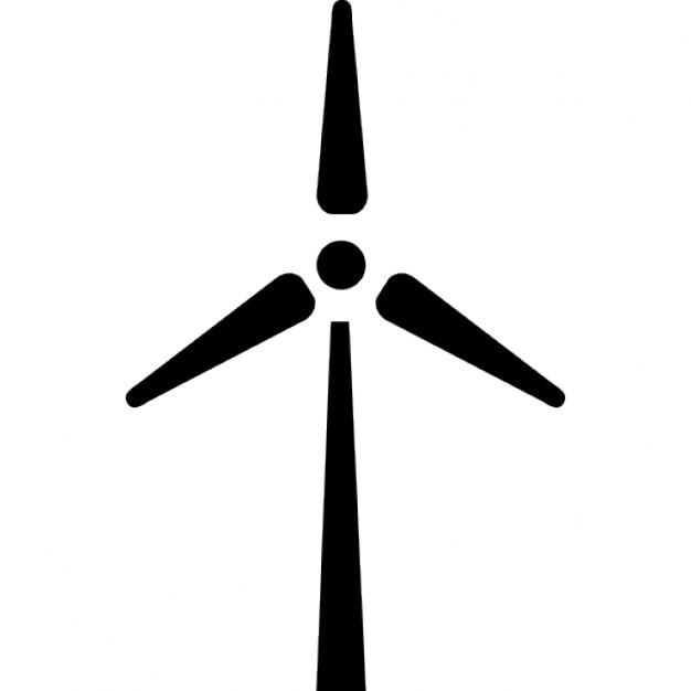 Windmühle ökologischen Generator | Download der kostenlosen Icons