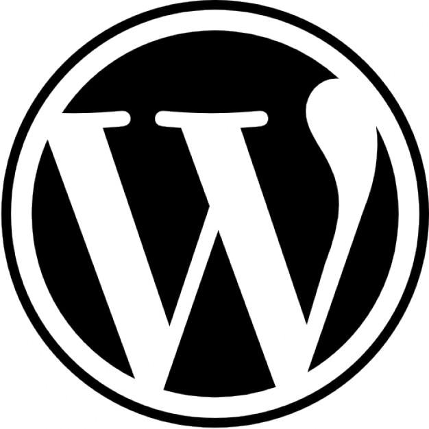 Wordpress logo Kostenlose Icons