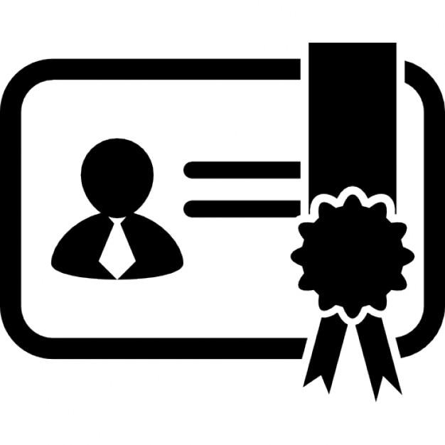 Zertifikat-Variante mit Bild   Download der kostenlosen Icons