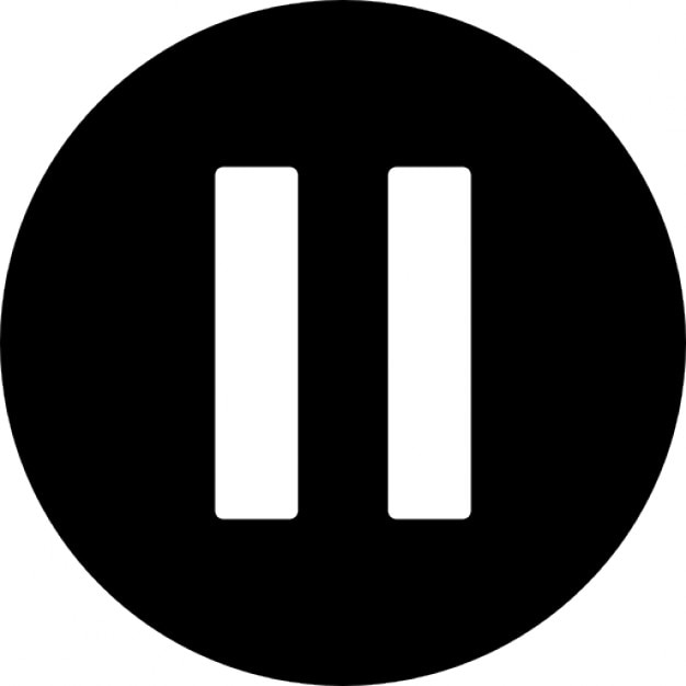 Zwei bars im kreis Kostenlose Icons