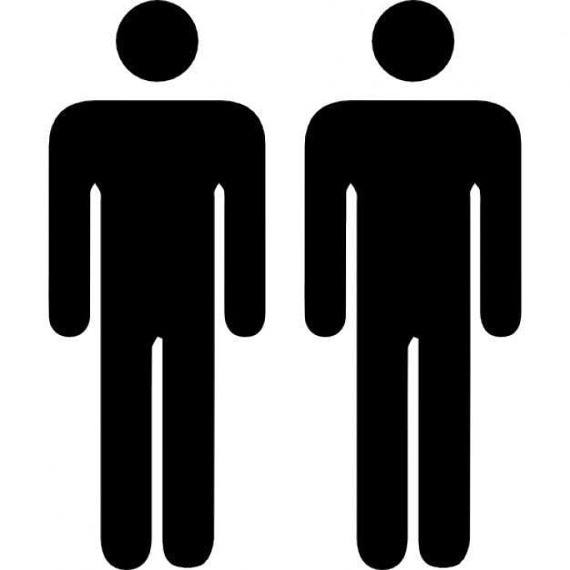 zwei personen silhouetten download der kostenlosen icons. Black Bedroom Furniture Sets. Home Design Ideas