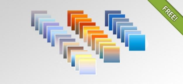 30 photoshop farbverläufe Kostenlosen PSD