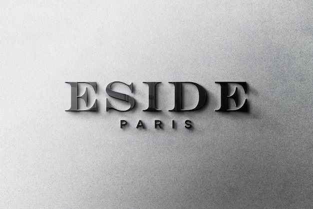 3d-logo-modell Kostenlosen PSD