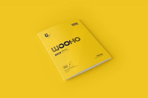 3xa4 trifold-broschüren-modell Premium PSD
