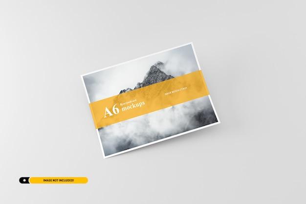 A6 postkarte / flyer modell Premium PSD