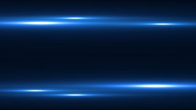 Abstrakter blauer geschwindigkeitsbewegungshintergrund Premium PSD