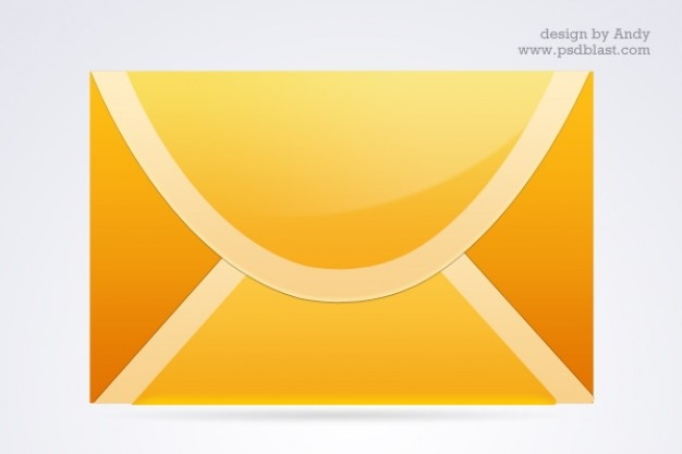 Andere farbe mail icon set Kostenlosen PSD