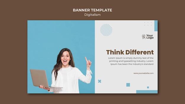 Banner business ad template Kostenlosen PSD