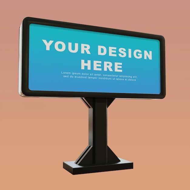 Bearbeitbares städtisches plakatmodell Premium PSD